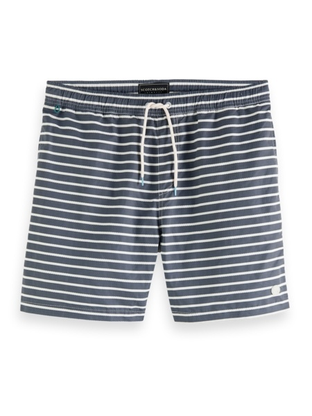 Mid lenght 2-colored swimshort