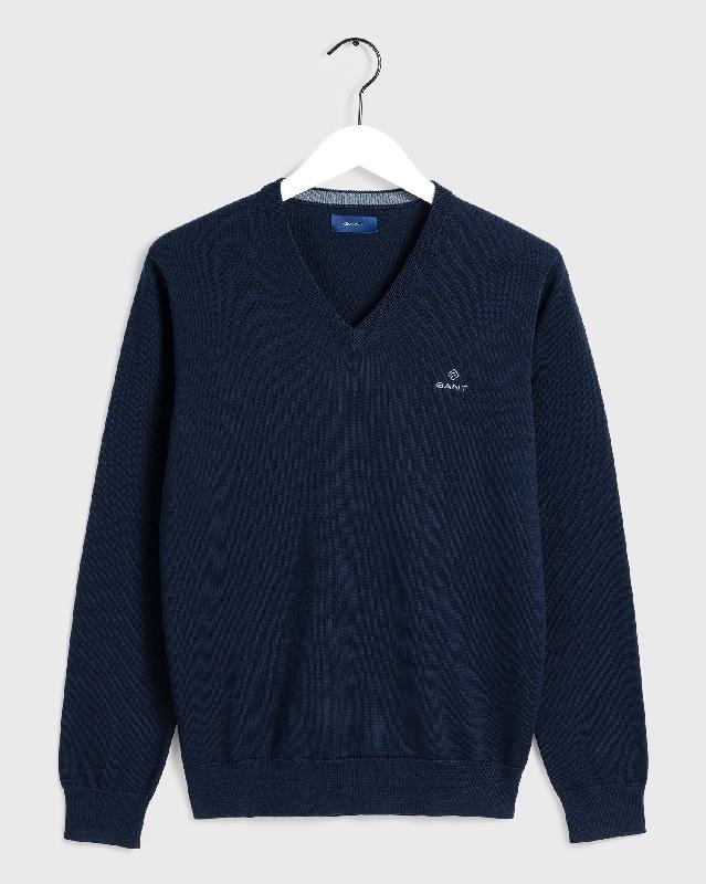 Classic cotton v-neck