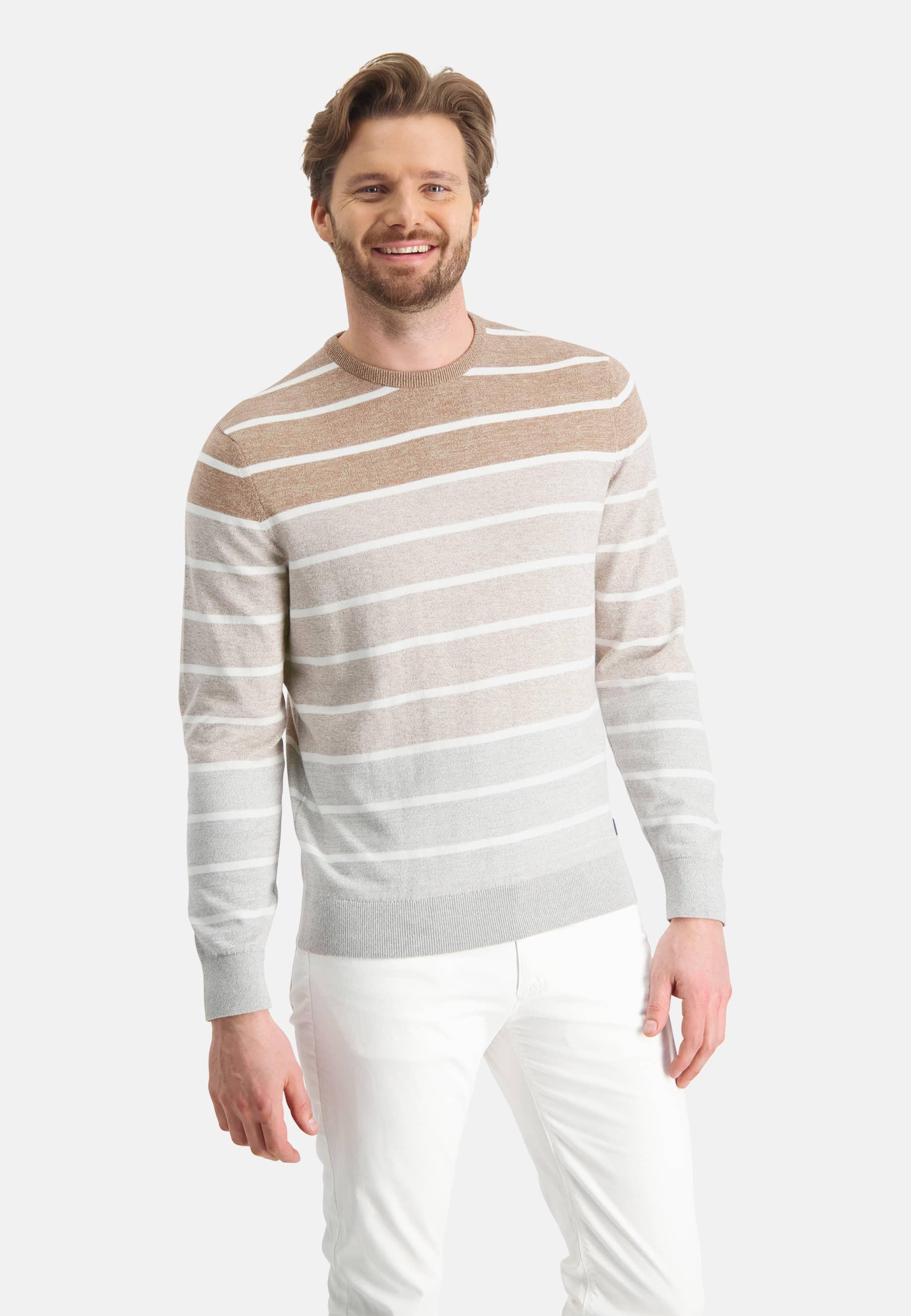Crewneck striped