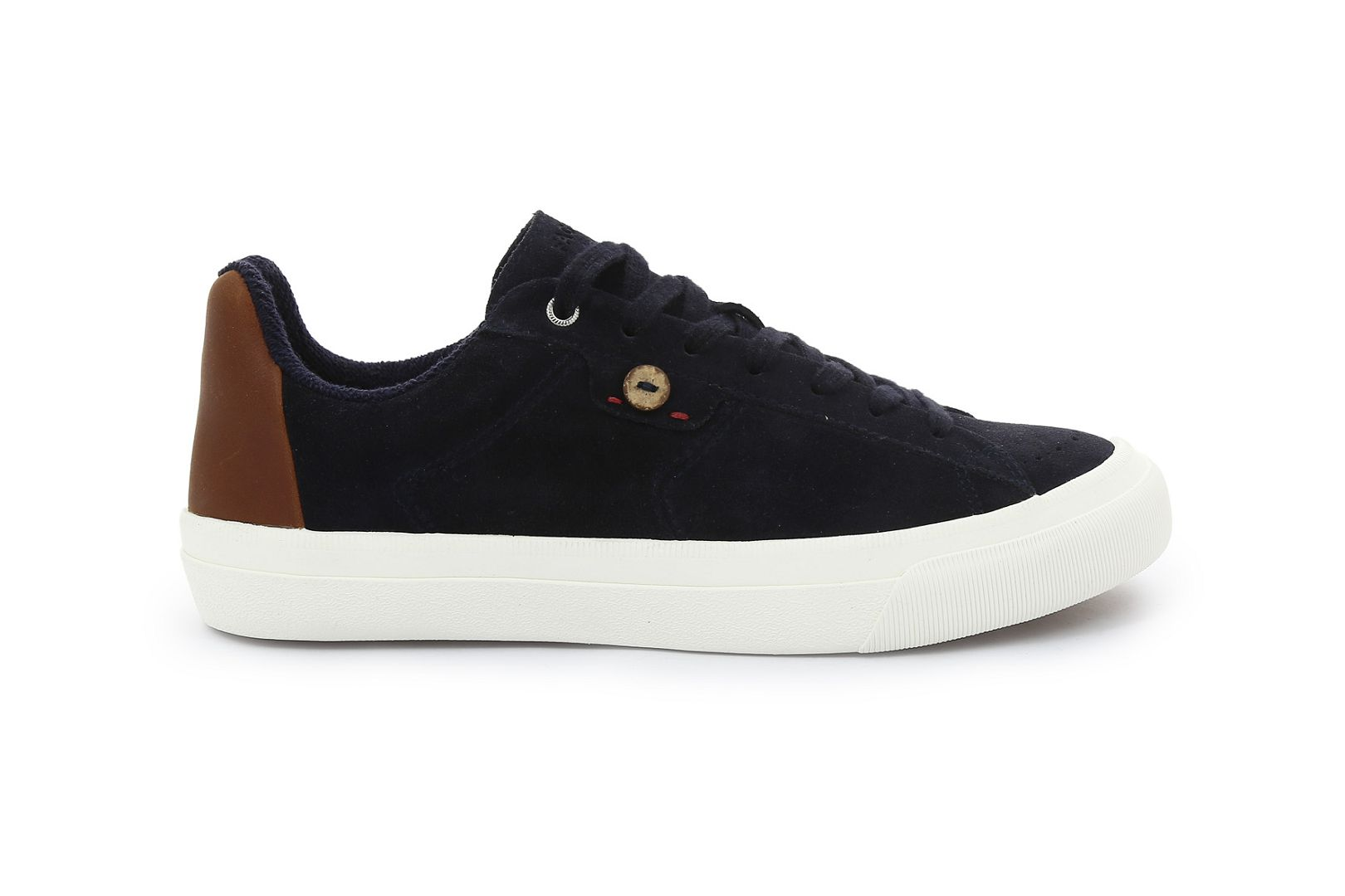 Sloe suede leather