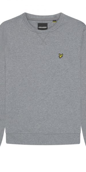 Sweater mid grey marl